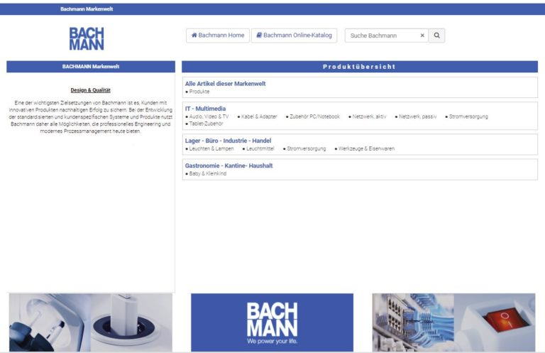 Markenshop Bachmann
